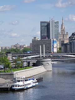 068 Мосты и виды Москвы.    110k