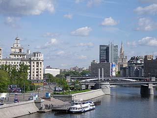 069 Мосты и виды Москвы.    175k