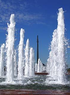 186 Центральный фонтан.   Centric fountain.   130k
