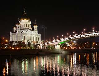 400 Ночной Храм Христа Спасителя.   177k