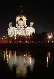 404 Ночной Храм Христа Спасителя.   121k