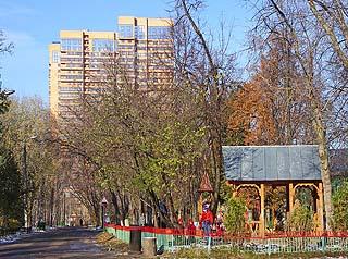 495 Поселок «Сокол».  Village «Sokol».   207k