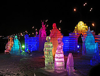 575 Ледяная скульптура.   Ice sculpture.  170k