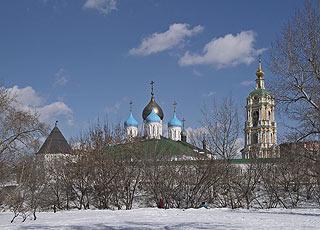 633 Новоспасский монастырь.  Novospasskiy   Coenoby.   221k
