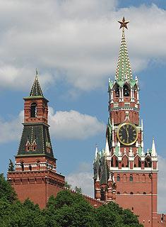 677 Набатная и Спасская башни. Nabatnaja and Spasskaja towers.  111k