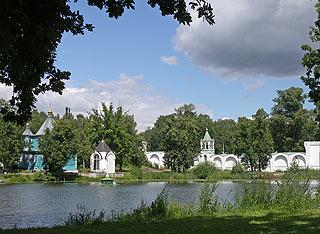 776  Николо-Угрешский монастырь. Пруд. 243k