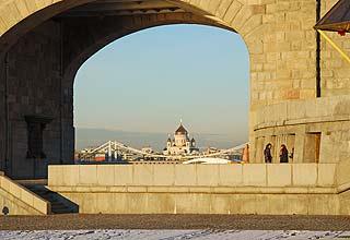 830 Андреевский пешеходный мост.   132k