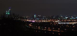 861 Ночной вид со смотровой площадки.   66k