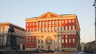 a230 Московская мэрия в 5 утра.       111k