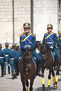 a248 Развод пеших и конных караулов на Соборной площади Кремля.     81k
